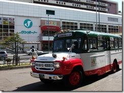 中央バスが道民ターゲットで小樽定期観光をボンネットバスで運行 小樽スイーツも体験できる
