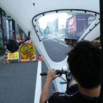 札幌ベロタクシー乗車、台数を増やして中心部移動手段の一角に食い込んでほしい