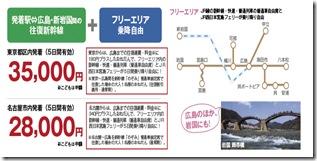 周遊きっぷに代わり山陽・四国エリアに「たびきっぷ」が登場、 四国旅行は特におススメ