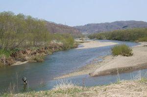 標津を全国区にしたANAの秋鮭釣りツアーが今年から白糠の茶路川でも開催される