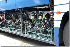 自転車をバスの専用キットに積み込める「サイバス」、サイクル・ツーリズムの可能性