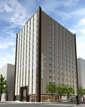 JR札幌駅南口近くに三井ガーデンホテルが開業・北海道内初進出